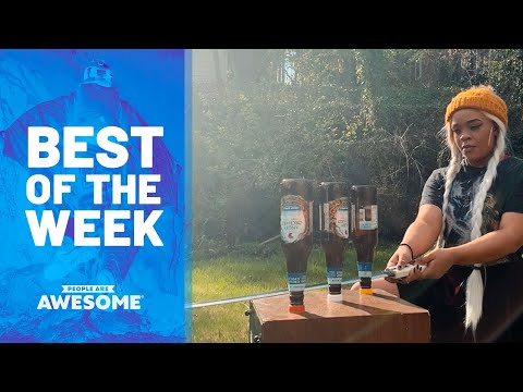 Slackline Kids, Extreme Skiing, Swords vs. Bottles & More | Best of the Week