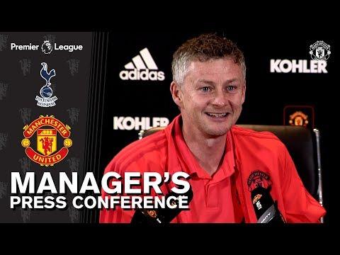 Manager's Press Conference | Manchester United v Tottenham Hotspur | Ole Gunnar Solskjaer Mp3