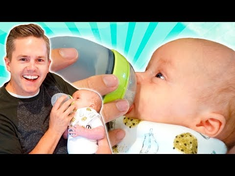 FEEDING My Baby For The FIRST TIME!