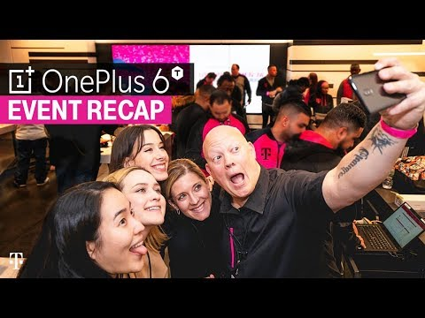 OnePlus 6T Launch Event Recap | T-Mobile Times Square Store In NYC