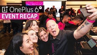 OnePlus 6T Launch Event Recap | T-Mobile Times Square Store in NYC Video