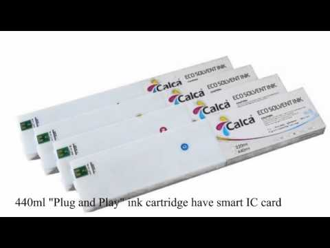 440ML  Cartuchos de tinta  Calca Compatible Mimaki SS21 ECO Ink Cartridge Sale