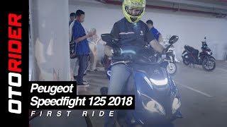 Peugeot Speedfight 125 2018 First Ride Indonesia | OtoRider