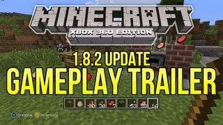 "Minecraft (Xbox 360) - 1.8.2 Update GAMEPLAY TRAILER Breakdown - ""New Mobs"" + MOAR Screenshots!"