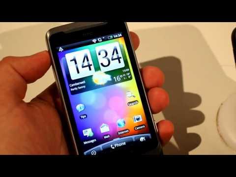 HTC Desire Z first look