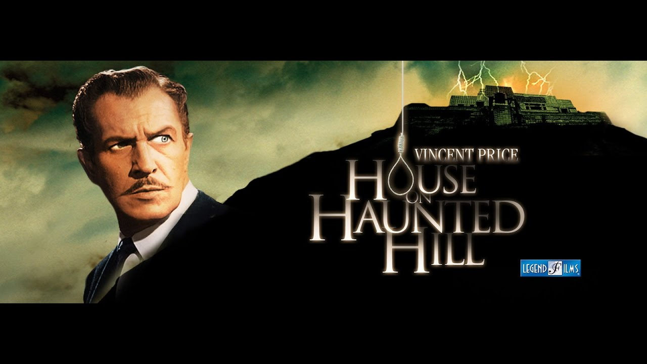 House On Haunted Hill 1959 1080p Vincent Price Full Movie In Hd Youtube