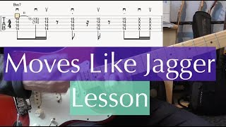 Quick Riff #50 - Moves Like Jagger