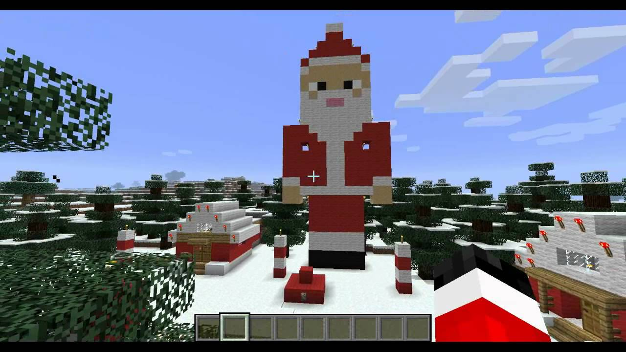 Day 7 Santa Statue 12 Days Of Minecraft Christmas Youtube HD Wallpapers Download free images and photos [musssic.tk]