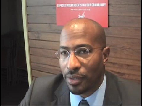"Van Jones Interview On ""The Green Collar Economy"""
