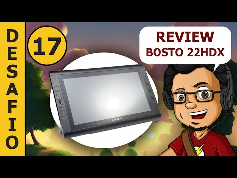 Bosto 22HDX UNBOXING REVIEW (Alternativa da Wacom Cintiq ?)