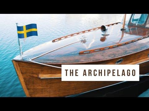 Boating in Stockholm's Archipelago
