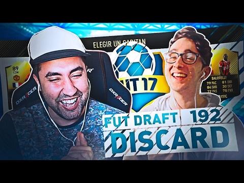 FUT DRAFT 192 O DISCARD!!!! SOLO 3 MINUTOS | vs Sebas