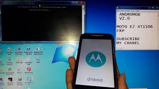 Bypass Motorola E 2 xt1506 google Account (frp unlock) 100%tested
