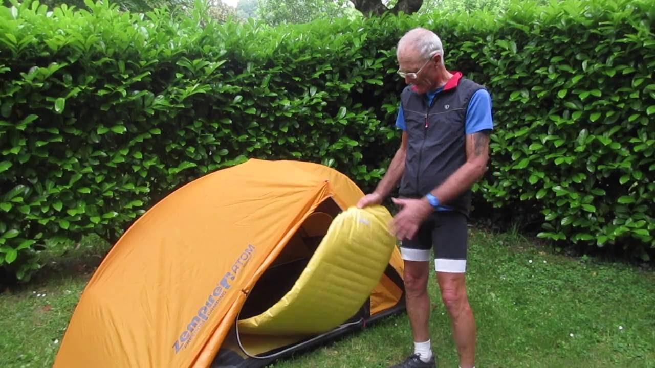 Zempire Atom Tent u0026 Thermarest NeoAir Sleeping Pad Review & Zempire Atom Tent u0026 Thermarest NeoAir Sleeping Pad Review - YouTube