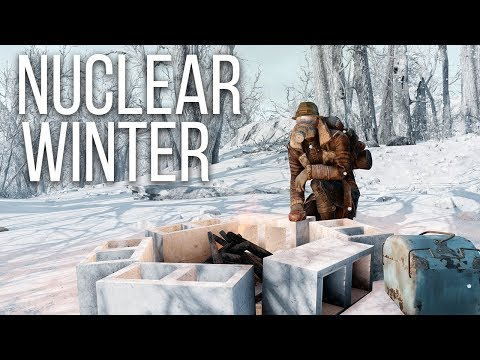 Surviving a Nuclear Winter - Fallout 4 Survival Mode Playthrough Part 1