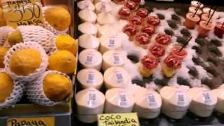 Центральный рынок Атаразанс, Малага(Цены на продукты на центральном рынке города Малага., 2016-04-24T15:27:44.000Z)