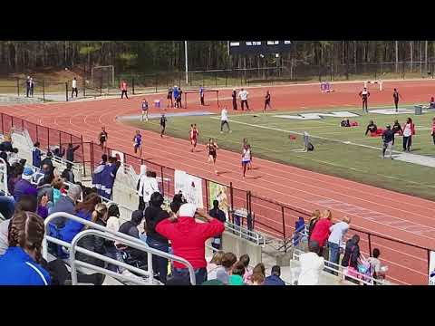 North Springs High School Girls 200m Prelims_H Cooper