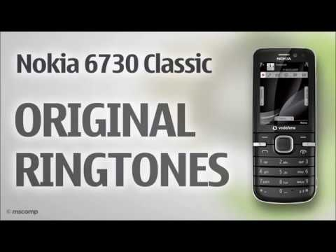 Nokia 6730 Classic Ringtones (Original) || The Royal Gadget
