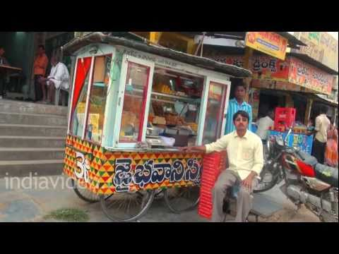 Sweet Stall, Road side vendor, Amaravathi