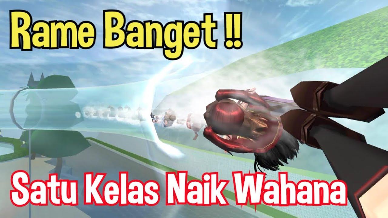 RAME BANGET!!! Ajak Teman2 Sekelas & Guru2 Ke WATERBOOM Sakura   Sakura School Simulator Indonesia