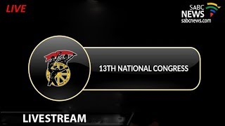 Cosatu's 13th National Congress Opening, 17 September 2018