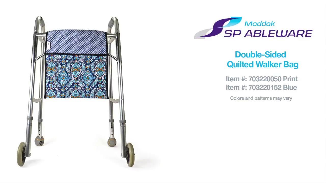 21946f5d1ba Quilted Walker Bag|Walker Tote Bag-Cotton|Patterned Walker Tote Bag
