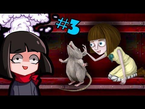 видео: Знакомство с Крысами - Прохождение хоррор игры Fran Bow часть 3 | Френ Боу