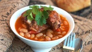 Canh Sườn Nấu đậu (stewed Pork Ribs With Beans)