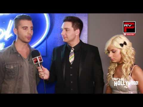 American Idol  -  Nick Fradiani suprised JLO thinks he's good looking & Jax Interview