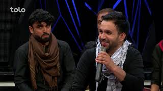زیر چتر عید - صحنه های جالب - صحبت های مهدی فرخ بعد از آهنگ قرصک