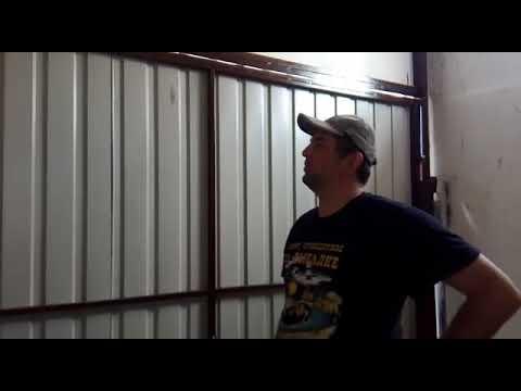 видео: Подъёмно- поворотные ворота на 4 х рычагах z- cистема