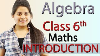 Introduction - quot Algebra quot - Chapter 11 - Class 6th Maths