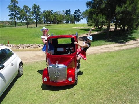 Candy Red Golf Cart Truck Youtube