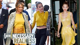 Necessary Realness: Yellow is Having a Moment   E! Style Collective   E! News