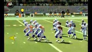NFL GAMEDAY 2004/ STEELERS VS COLTS PT.1 [PS2] [HD]