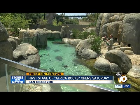 "San Diego Zoo opens ""Africa Rocks"""