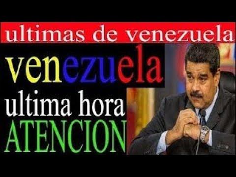 ULTIMAS NOTICIAS DE VENEZUELA CARACAS HOY AGOSTO 2017 ULTIMA HORA RESUMEN MADURO CONSTITUY