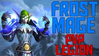WoW Legion Frost Mage PvP (Arenas)
