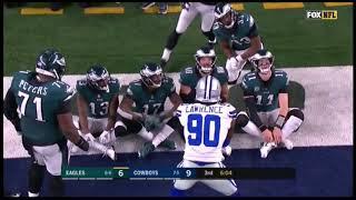 Cowboys Deny Eagles TD Celebration
