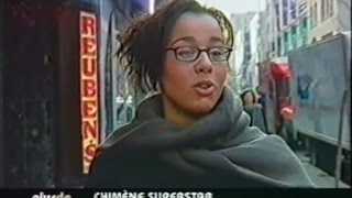 Première télé de Chimène Badi / Popstars (2002)