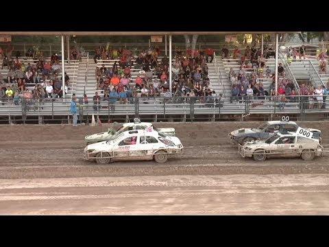Trash Car Racing Logan Utah   8-26-17