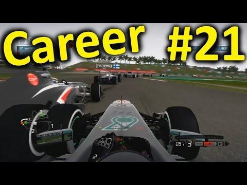 F1 2013 Malaysia 100% Career Mode Part 21: Sepang