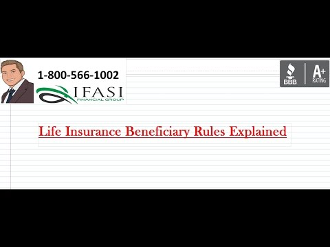 Life Insurance Beneficiary Rules - Life Insurance Beneficiary Rule