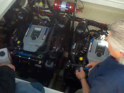 How Easy It Is To Drain A MerCruiser Sea Core Engine