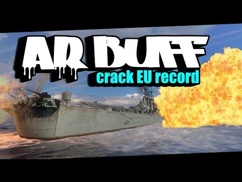 AR buff in the beginning helps crack EU record for Worcester || World of Warships