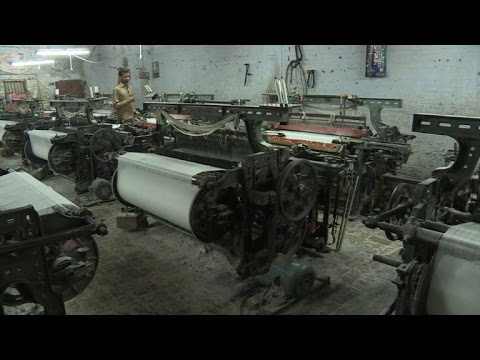 Pakistan's textile industry struggles to bounce back