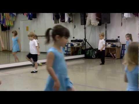 Levi @ Ballet Class (Spring 2013)