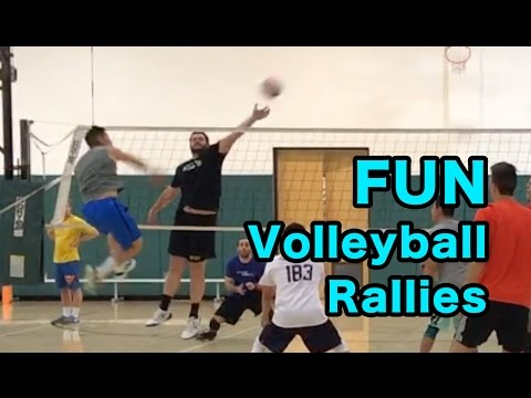 FUN RALLIES - Volleyball Open Gym (3/2/17)