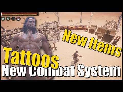 New Combat System, New Items and Tattoos - Conan Exiles