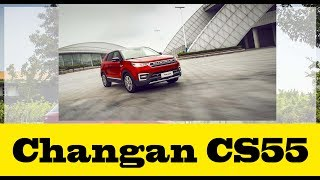 In depth look at the all-new Changan CS55 Urban SUV